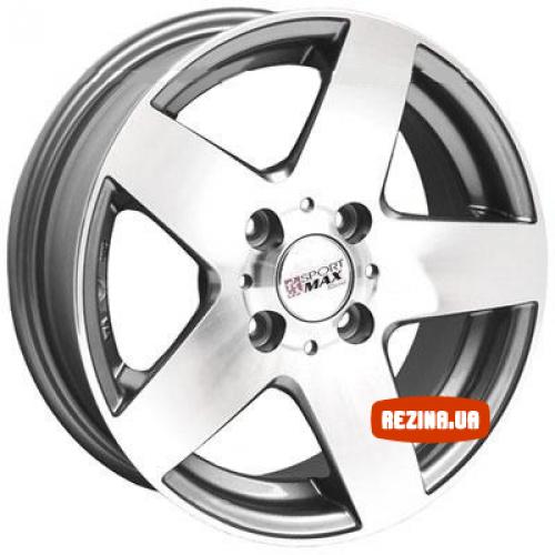 Купить диски Sportmax Racing SR265 R13 4x100 j5.5 ET25 DIA67.1 GSP