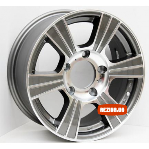 Купить диски Sportmax Racing SR522 R16 5x139.7 j7.0 ET35 DIA98.5 GSP
