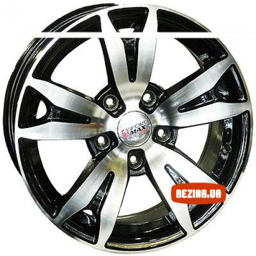 Купить диски Sportmax Racing SR574 R15 5x114.3 j6.5 ET35 DIA73.1 MB