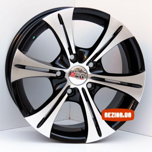 Купить диски Sportmax Racing SR629 R15 5x114.3 j6.5 ET35 DIA67.1 MB