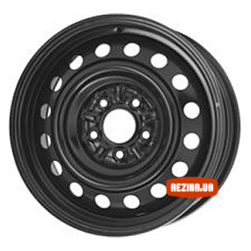 Купить диски Steel YA-535 R16 5x114.3 j6.5 ET52 DIA64.1 черный