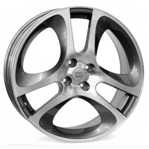 Купить диски WSP Italy Alfa Romeo (W255) Mars Mito R16 4x98 j7.0 ET39 DIA58.1 ANTHRACITE POLISHED