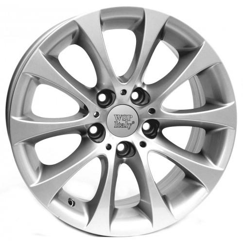 Купить диски WSP Italy BMW (W660) Alicudi R17 5x120 j8.0 ET34 DIA72.6 silver