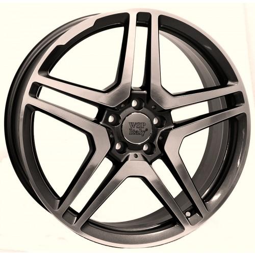 Купить диски WSP Italy Mercedes (W759) AMG Vesuvio R17 5x112 j8.0 ET35 DIA66.6 ANTHRACITE POLISHED
