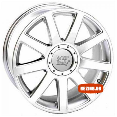 Купить диски WSP Italy Audi (W532) RS4 Paestum R15 5x100 j6.5 ET35 DIA57.1 hyper silver