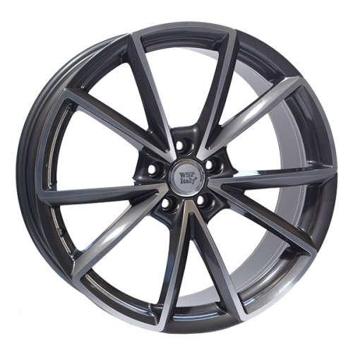 Купить диски WSP Italy Audi (W569) Aiace R20 5x112 j8.5 ET33 DIA66.6 ANTHRACITE POLISHED