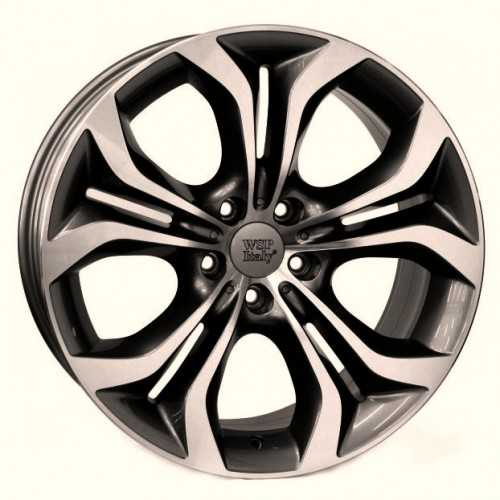 Купить диски WSP Italy BMW (W674) Aura R19 5x120 j10.0 ET21 DIA72.6 ANTHRACITE POLISHED