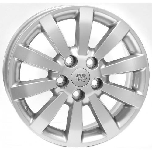Купить диски WSP Italy Toyota (W1752) Auris R16 5x114.3 j6.5 ET45 DIA60.1 silver