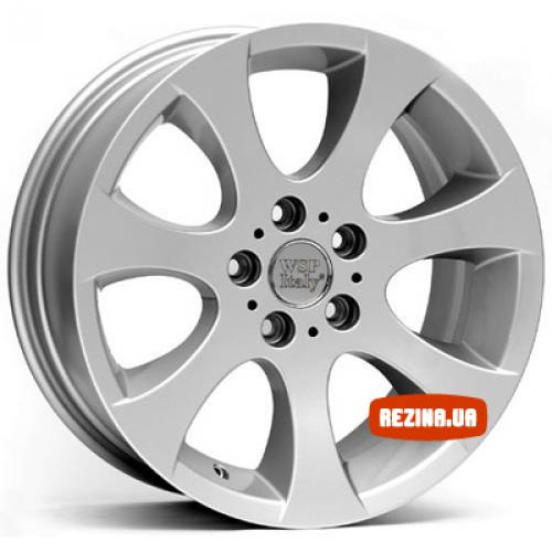 Купить диски WSP Italy BMW (W651) Ginevra R16 5x120 j7.0 ET34 DIA72.6 silver