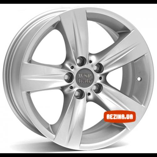 Купить диски WSP Italy BMW (W659) Fabiana R18 5x120 j8.0 ET34 DIA72.6 silver