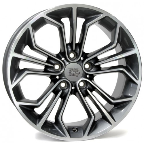 Купить диски WSP Italy BMW (W671) Venus X1 R19 5x120 j8.0 ET30 DIA72.6 ANTHRACITE POLISHED