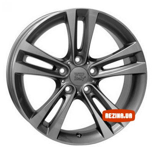 Купить диски WSP Italy BMW (W680) Zeus R18 5x120 j8.0 ET34 DIA72.6 ANTHRACITE POLISHED