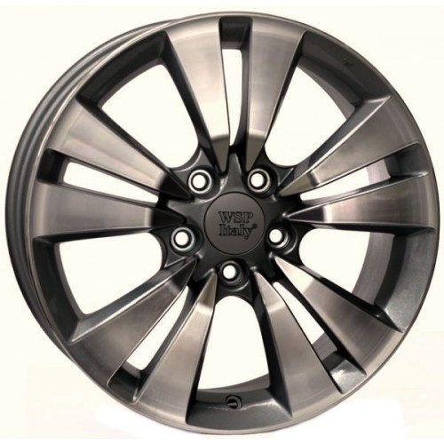 Купить диски WSP Italy Honda (W2409) Bolzano R17 5x114.3 j7.5 ET55 DIA64.1 ANTHRACITE POLISHED
