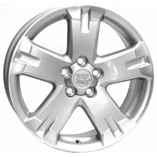 Купить диски WSP Italy Toyota (W1750) Catania R17 5x114.3 j7.0 ET45 DIA60.1 silver
