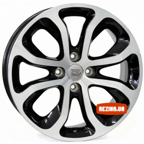 Купить диски WSP Italy Citroen (W3403) Nimes R16 4x108 j6.0 ET23 DIA65.1 glossy black polished