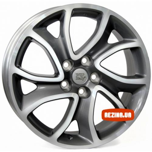 Купить диски WSP Italy Citroen (W3404) Yonne R18 5x114.3 j7.0 ET38 DIA67.1 ANTHRACITE