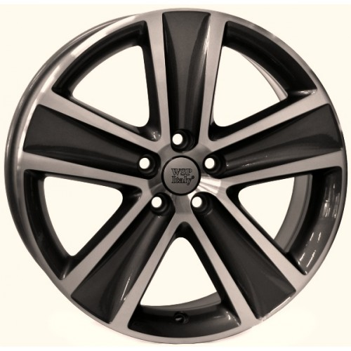 Купить диски WSP Italy Volkswagen (W463) Cross Polo R16 5x100 j7.0 ET46 DIA57.1 ANTHRACITE POLISHED