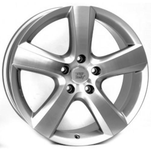 Купить диски WSP Italy Volkswagen (W451) Dhaka R20 5x112 j9.0 ET33 DIA57.1 SILVER POLISHED