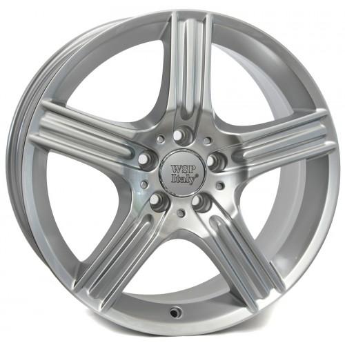 Купить диски WSP Italy Mercedes (W763) Dione R17 5x112 j8.5 ET38 DIA66.6 silver