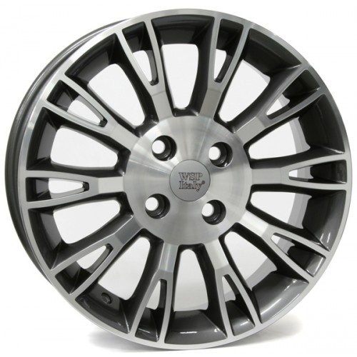 Купить диски WSP Italy Fiat (W150) Valencia R16 4x98 j6.5 ET45 DIA58.1 SILVER POLISHED