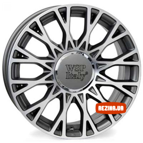 Купить диски WSP Italy Fiat (W162) Grase R15 5x98 j6.0 ET39 DIA58.1 ANTHRACITE POLISHED