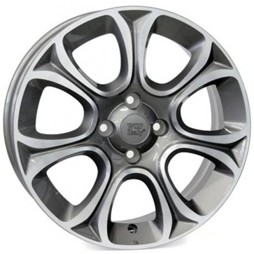 Купить диски WSP Italy Fiat (W163) Evo R16 4x100 j6.0 ET45 DIA56.6 ANTHRACITE POLISHED