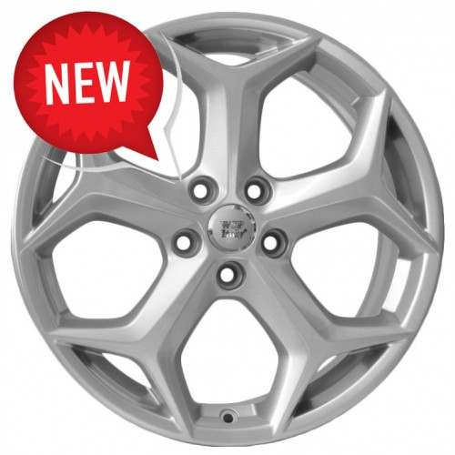 Купить диски WSP Italy Ford (W957) New Delhi R17 5x108 j7.0 ET50 DIA63.4 silver