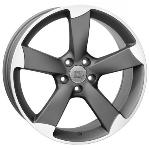 Купить диски WSP Italy Audi (W567) Giasone R18 5x112 j8.0 ET26 DIA66.6 MATT GUN METAL POLISHED