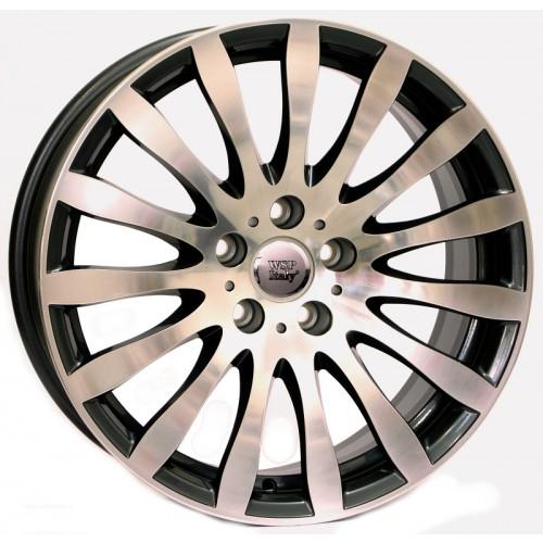 Купить диски WSP Italy BMW (W663) Glazgo R17 5x120 j8.0 ET15 DIA74.1 ANTHRACITE POLISHED