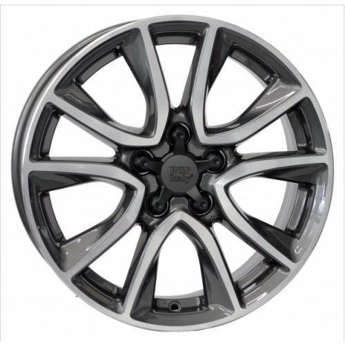 Купить диски WSP Italy Honda (W2411) Gerda CRZ R17 5x114.3 j6.5 ET45 DIA64.1 ANTHRACITE POLISHED
