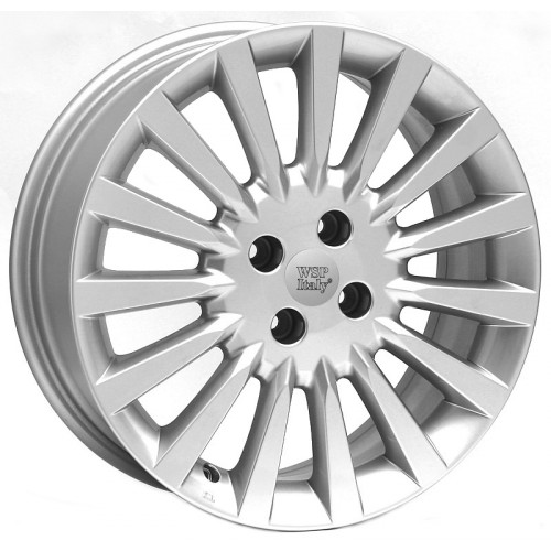 Купить диски WSP Italy Fiat (W144) Lampedusa R15 4x100 j6.0 ET38 DIA56.6 silver