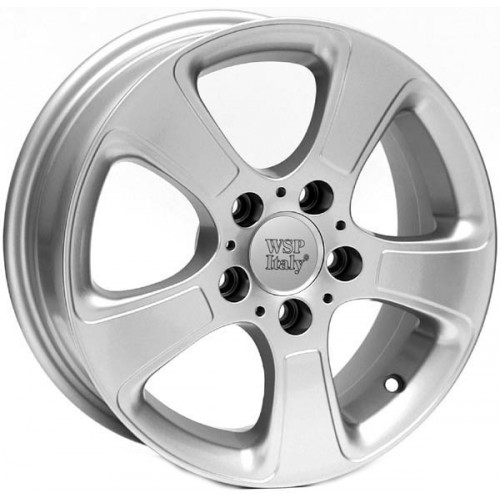 Купить диски WSP Italy Mercedes (W730) Leucosia R16 5x112 j6.0 ET46 DIA66.6 silver