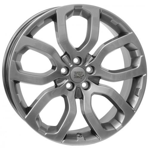 Купить диски WSP Italy Land Rover (W2357) Liverpool R18 5x108 j8.0 ET45 DIA63.4 DARK SILVER