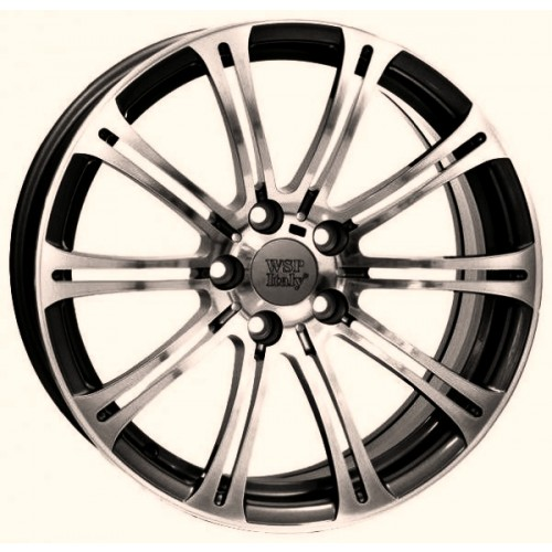 Купить диски WSP Italy BMW (W670) M3 Luxor R18 5x120 j8.5 ET37 DIA72.6 ANTHRACITE POLISHED
