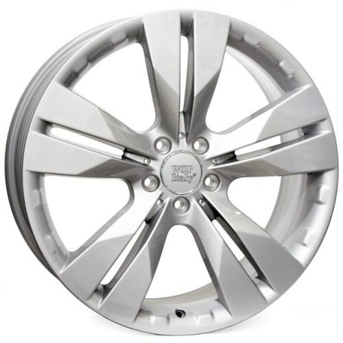 Купить диски WSP Italy Mercedes (W767) Manila R19 5x112 j9.5 ET56 DIA66.6 silver