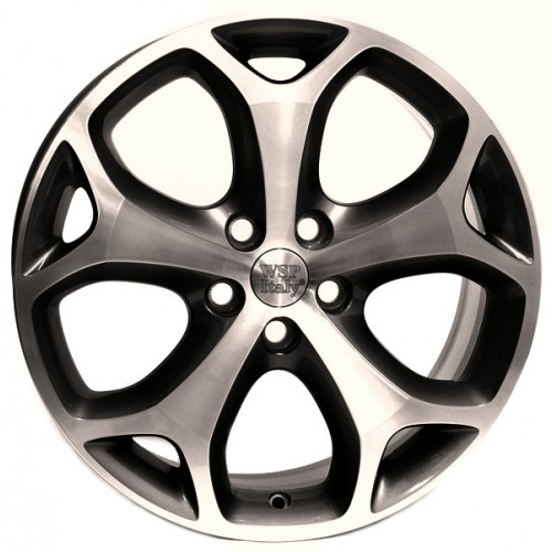 Купить диски WSP Italy Ford (W950) Max-Mexico R18 5x108 j8.0 ET55 DIA63.4 ANTHRACITE POLISHED