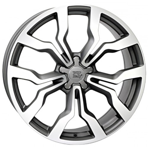 Купить диски WSP Italy Audi (W565) Medea R18 5x112 j8.0 ET39 DIA66.6 MATT GUN METAL POLISHED