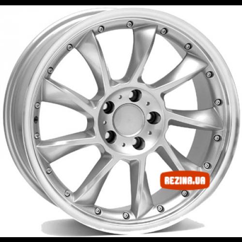 Купить диски WSP Italy Mercedes (W729) Madrid R20 5x112 j8.5 ET35 DIA66.6 SILVER POLISHED