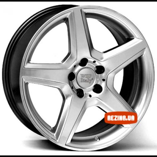 Купить диски WSP Italy Mercedes (W731) AMG III Budapest R17 5x112 j7.0 ET49 DIA66.6 hyper silver