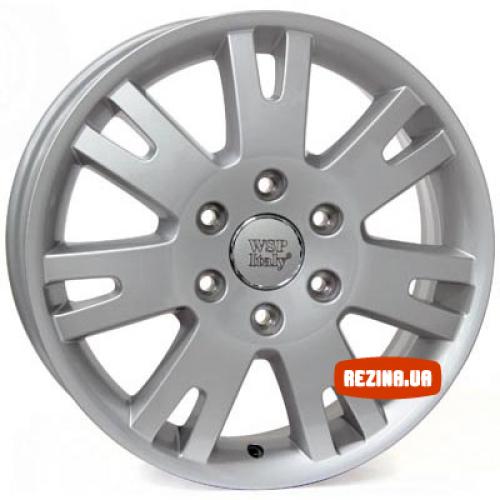 Купить диски WSP Italy Mercedes (W770) Sprint Six R16 6x130 j6.5 ET62 DIA84.1 silver
