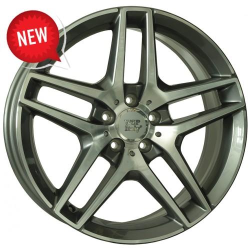 Купить диски WSP Italy Mercedes (W771) Enea R19 5x112 j9.5 ET43 DIA66.6 ANTHRACITE POLISHED