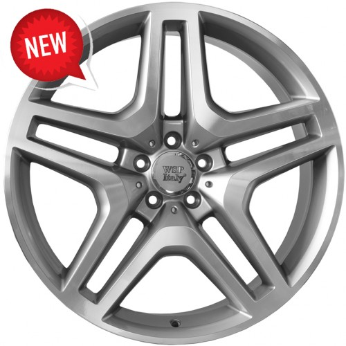 Купить диски WSP Italy Mercedes (W774) Ischia R20 5x130 j9.5 ET50 DIA84.1 SILVER POLISHED