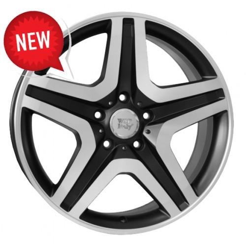 Купить диски WSP Italy Mercedes (W775) Miyagi R20 5x130 j9.5 ET50 DIA84.1 black polished