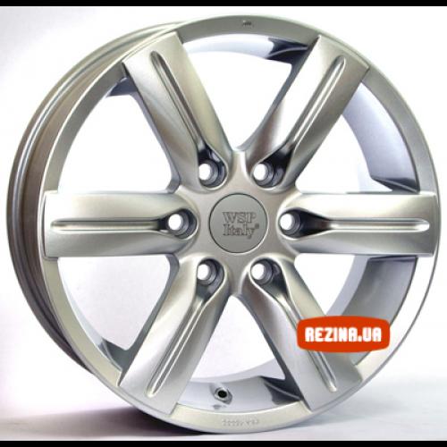 Купить диски WSP Italy Mitsubishi (W3001) Pajero R20 6x139.7 j9.5 ET50 DIA67.1 silver