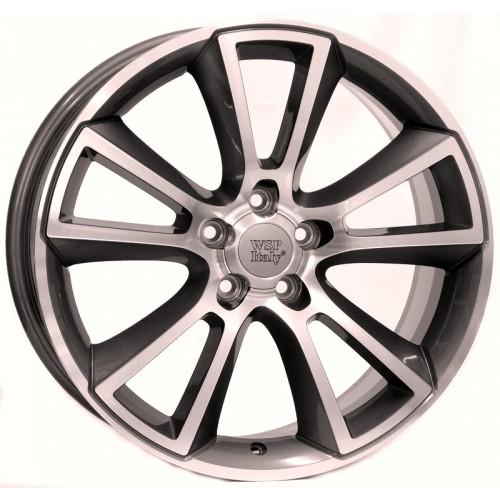 Купить диски WSP Italy Opel (W2504) Moon R18 5x105 j8.0 ET40 DIA56.6 ANTHRACITE POLISHED