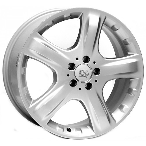 Купить диски WSP Italy Mercedes (W737) Mosca R17 5x112 j8.0 ET35 DIA66.6 silver