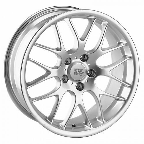 Купить диски WSP Italy BMW (W643) CSL Munchen R18 5x120 j8.0 ET38 DIA72.6 silver