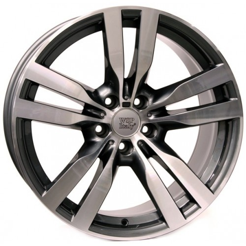 Купить диски WSP Italy BMW (W672) Pandora X6 R20 5x120 j10.0 ET40 DIA72.6 ANTHRACITE POLISHED
