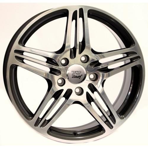 Купить диски WSP Italy Porsche (W1050) Philadelphia R19 5x130 j8.5 ET50 DIA71.6 ANTHRACITE POLISHED
