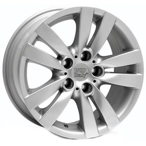 Купить диски WSP Italy BMW (W658) Pisa R17 5x120 j8.0 ET34 DIA72.6 silver